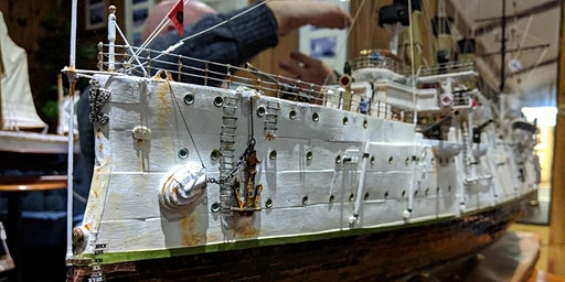 Battleship Technology Illustrated with Models on 13 March at Bolton SC