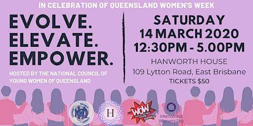 QLD Women's Week: Evolve. Elevate. Empower.