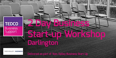 Business Start-up Workshop Darlington (2 Days) June tickets