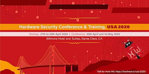 hardwear.io Security Conference and Training, USA 2020