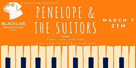 Penelope & The Suitors - Live @BlackLab tickets