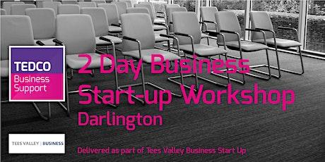 Business Start-up Workshop Darlington (2 Days) February tickets
