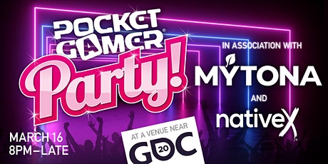 Pocket Gamer Party @ GDC 2020 tickets