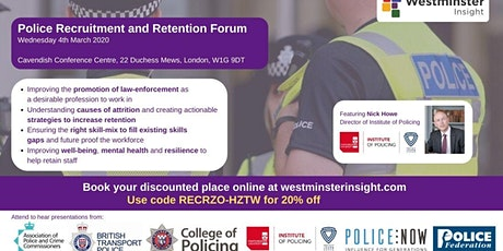 Police Recruitment and Retention Forum tickets
