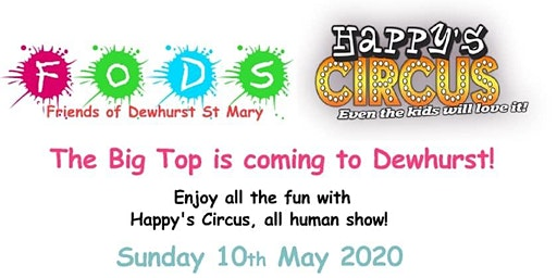 Happy's Circus at Dewhurst St Mary