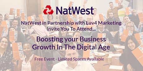 Boosting your Business Growth In The Digital Age tickets
