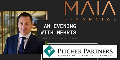 MAIA Financial brings you Andrew Mehrtens tickets