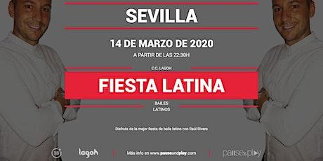 Fiesta latina con Raúl Rivera en Pause&Play Lagoh entradas