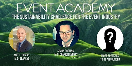 The Sustainability Challenge for the Event Industry  - The Event Academy tickets