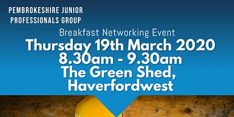 Pembrokeshire Breakfast Networking Event tickets