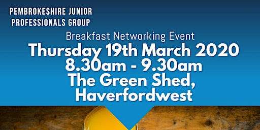 Pembrokeshire Breakfast Networking Event