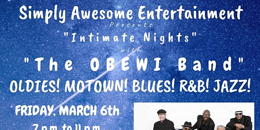 Fayetteville - An Intimate Night of Oldies! Blues! Motown!  Jazz! & Dance!