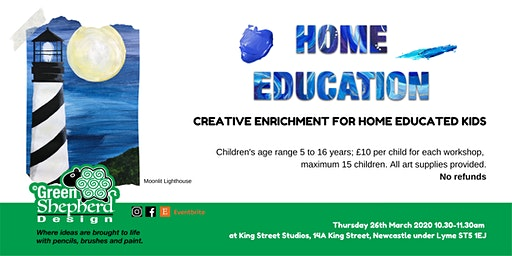 Home Education - Kids Art Workshop