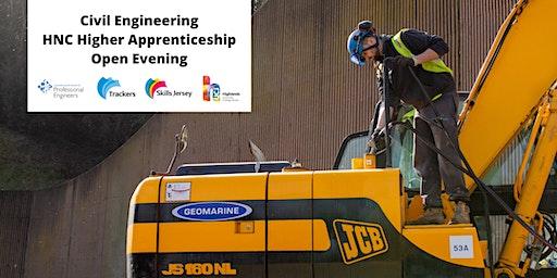 Civil Engineering HNC Higher Apprenticeship open evening