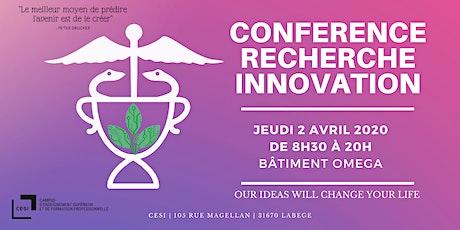 Conférence Recherche et Innovation - CESI Toulouse billets