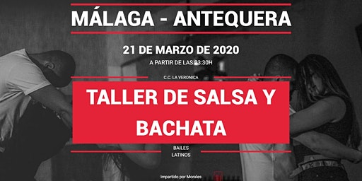 Taller de salsa y bachata con Morales en Pause&Play La Verónica
