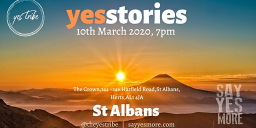 Yes Stories Hertfordshire - a night of adventure!