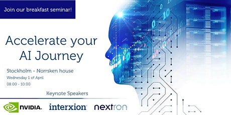 Breakfast seminar |  Accelerate your AI Journey tickets