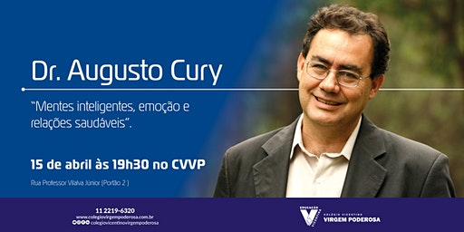 Dr. Augusto Cury no #CVVP