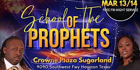 School of the Prophets 2020 tickets