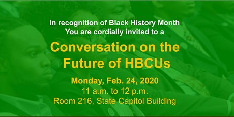 Conversation on the Future of HBCUs tickets