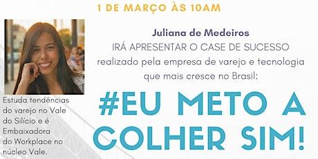 """Reunião Geral Temática """"#EuMetoAColherSim!"""" ingressos"""