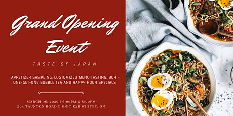 IPPON RAMEN Grand Opening: Taste of Japan tickets