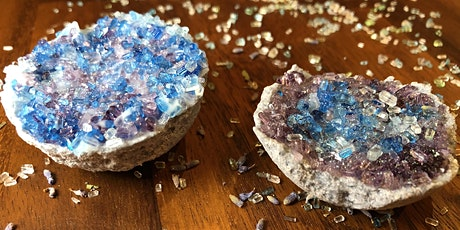 Geode Crystal Bath Bomb Making Workshop tickets