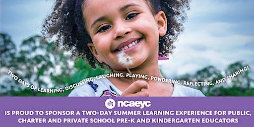 Good Things for Young Children: 2020 Summer Institute for PreK & K Teachers (Pitt CC)
