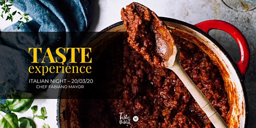 Taste Experience   Italian Night