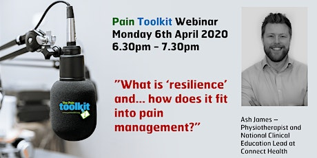 Pain Toolkit Webinar - with Physiotherapist Ash James tickets