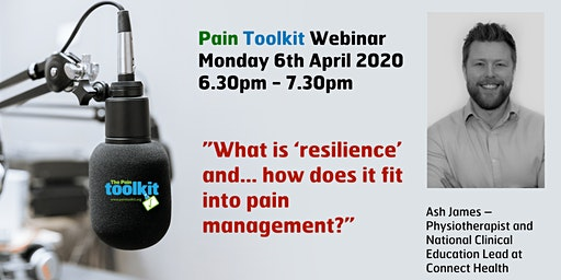 Pain Toolkit Webinar - with Physiotherapist Ash James