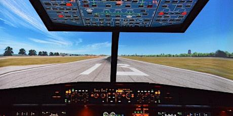 Charla sobre seguridad aérea y visita a simulador ✈️ tickets