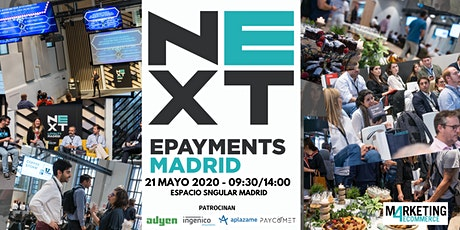 NEXT EPAYMENTS 2020 tickets