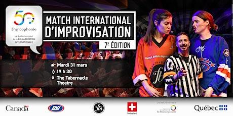 7th International Impro Match tickets