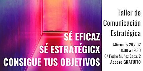 Comunicación Estratégica entradas