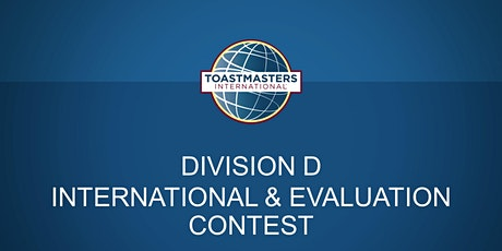 DIVISION D INTERNATIONAL & EVALUATION SPEECH CONTEST tickets