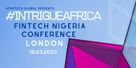 Intrigue Africa:  Nigeria's Fintech Conference tickets