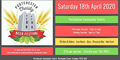 Portchester Charity Beer Festival tickets