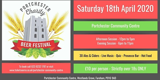 Portchester Charity Beer Festival