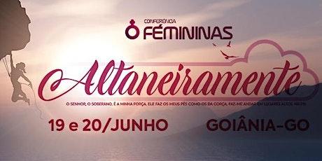 Conferência Fémininas: Altaneiramente ingressos