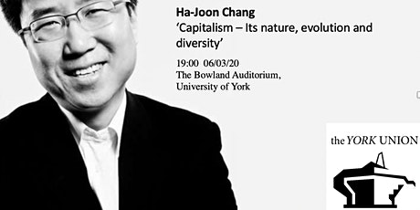 Ha-Joon Chang: 'Capitalism - Its nature, evolution and diversity' tickets