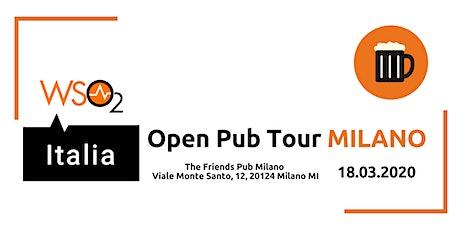 WSO2 ITALIA OPEN PUB TOUR - MILANO biglietti