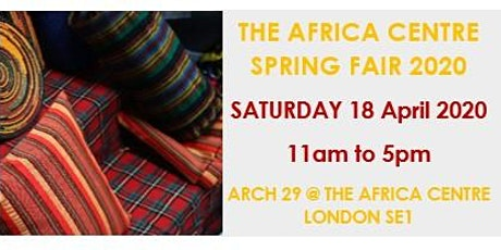 The Africa Centre Spring Fair 2020 tickets