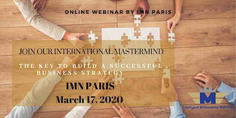 Webinar :  The Key to build a Successful Business Strategy tickets