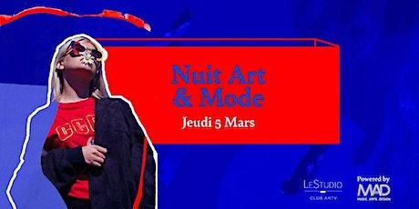 Nuit Art et Mode billets