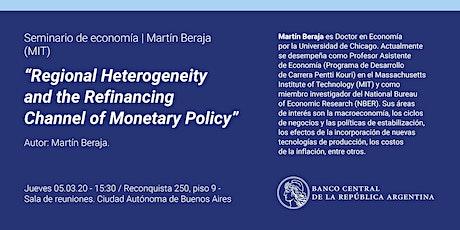 Seminario de Economía | Martín Beraja (MIT) entradas
