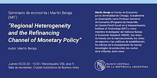 Seminario de Economía   Martín Beraja (MIT)
