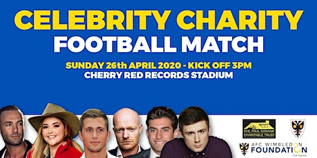 Celebrity Charity Football Match tickets