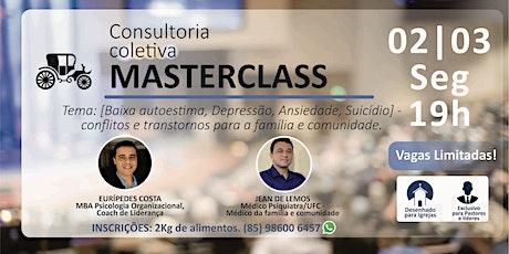 MASTER CLASS - Pastores e líderes ingressos